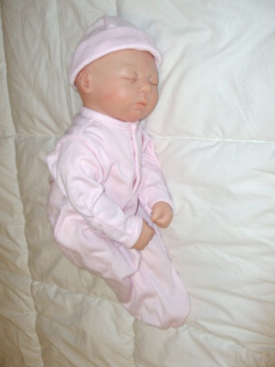 Pink Sleeper with Cap
