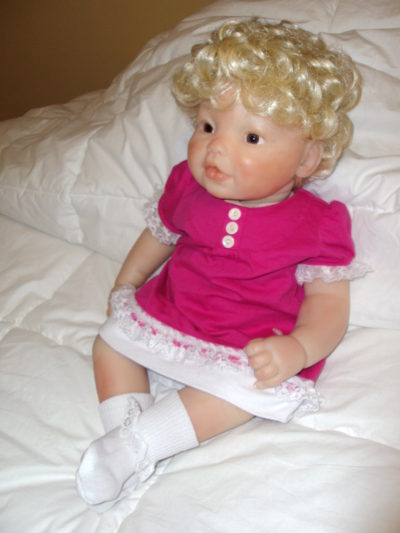 Newborn Doll Mary