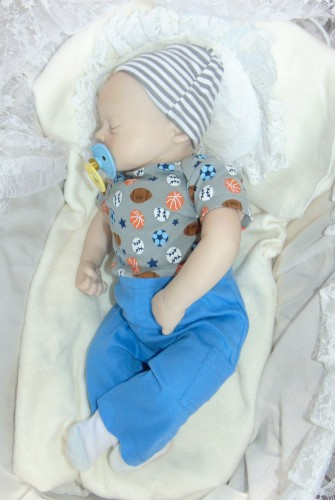 Newborn Doll Randy