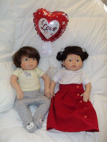 Doll Valentine Couple