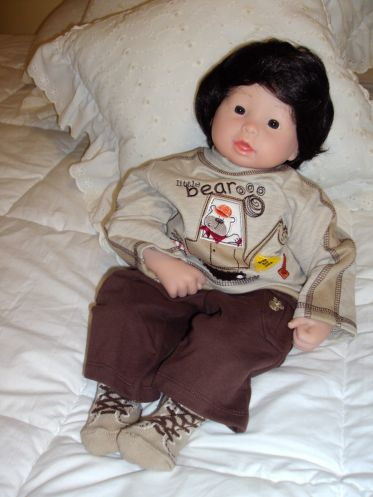Newborn Doll Timmy
