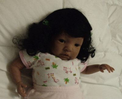 Newborn Doll Theresa