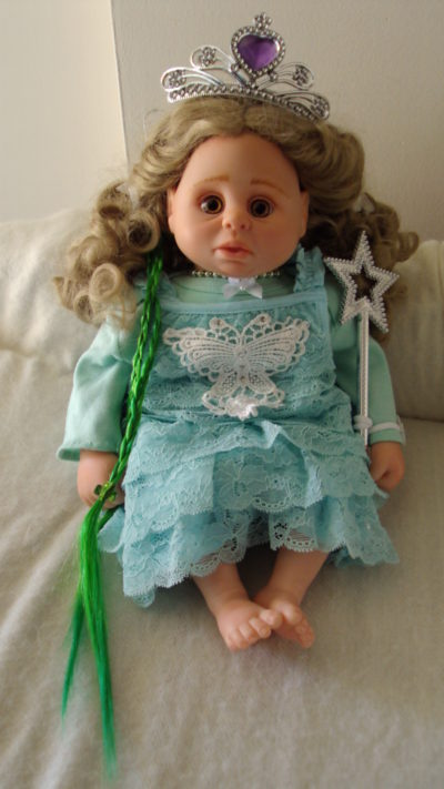 Fairy Doll In Blue