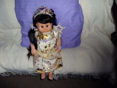 Fairy Doll in Silver / Gold