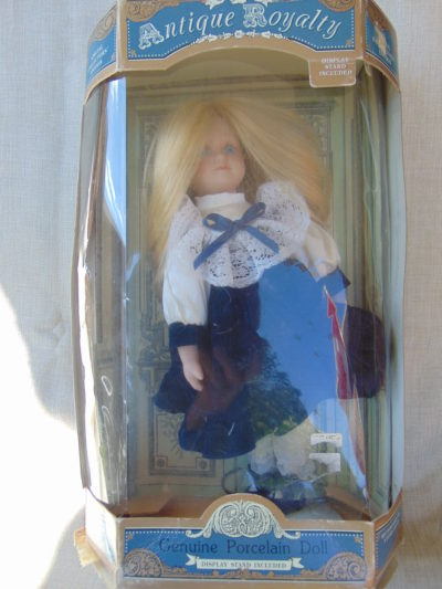 Porcelain Doll Antique Royalty