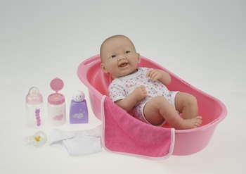 La Newborn Bath Set