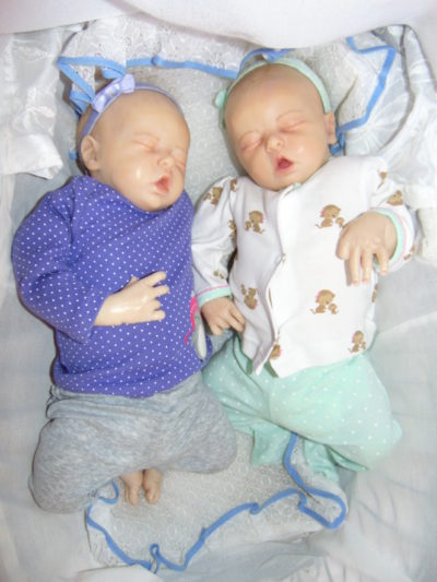 Newborn Dolls Lexi and Libby