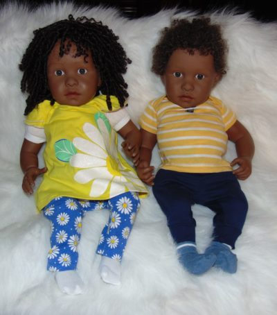 Newborn Dolls Jada and Jordan