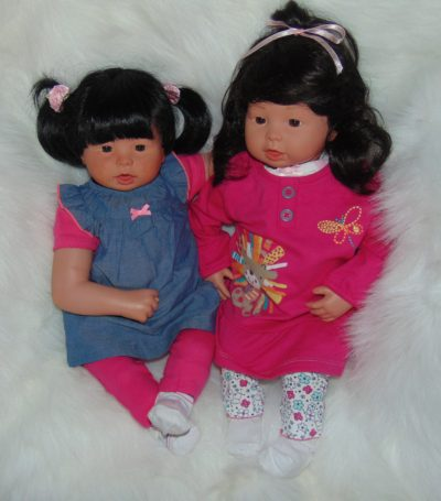 Newborn Dolls Zoe and Zola