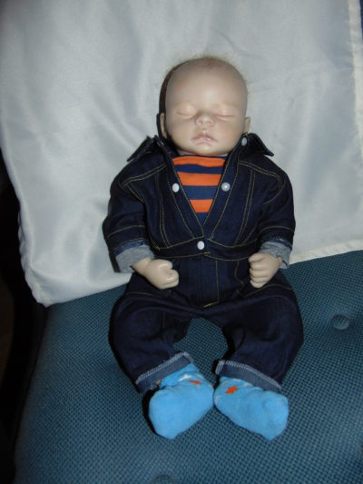 Newborn Doll Calvin