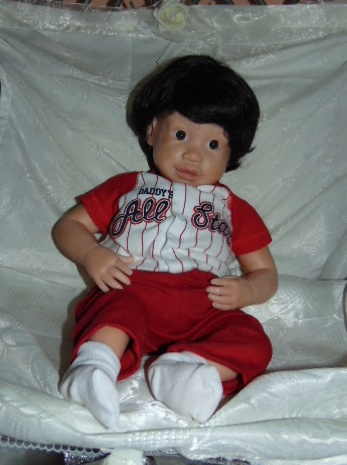 Newborn Doll Scotty